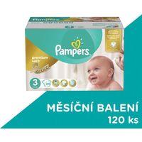 Pampers , premium care mega box, pieluchy jednorazowe, midi, 5-9 kg, 120 szt.