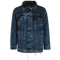 limited by name it NLFASIRANA OVERSIZED JACKET Kurtka jeansowa medium blue denim