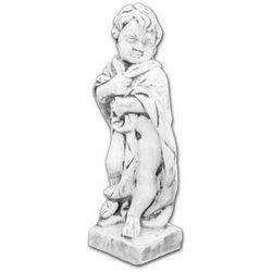 Figura ogrodowa betonowa Dziecko z szatą 49cm