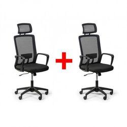 B2b partner Krzesło biurowe base plus 1+1 gratis, czarny