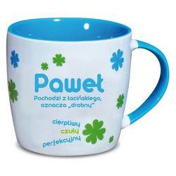 Nekupto, Paweł, kubek ceramiczny imienny, 330 ml