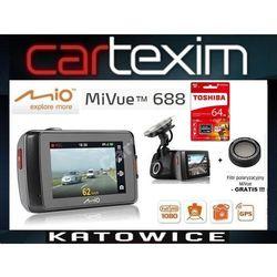 Mio MiVue 688 GPS, samochodowy rejestrator trasy