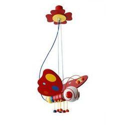 Lampa wisząca MOTYL wielobarwna - produkt z kategorii- Oświetlenie dla dzieci