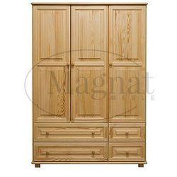 Szafa sosnowa 3d nr3 s133 marki Magnat - producent mebli drewnianych i materacy