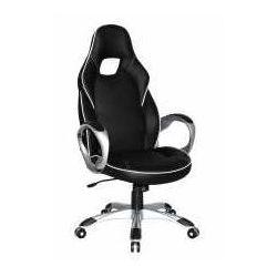 Halmar Fotel deluxe czarno-biały - zadzwoń i złap rabat do -10%! telefon: 601-892-200