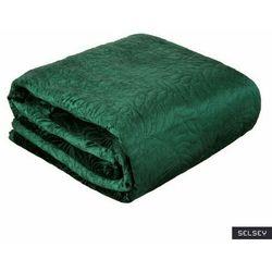 Selsey narzuta na łóżko edanika 220x240 cm ciemnozielona (5903025671208)