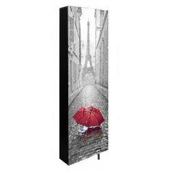 Obrotowa szafa na buty DAF z nadrukiem parasolka, MS-0139