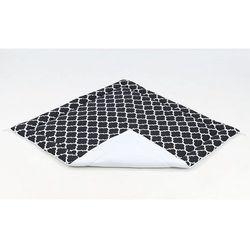 MAMO-TATO Mata podłogowa dla dzieci dwustronna 116x116 Maroko czarne / biały