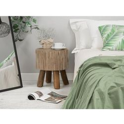 Beliani Stolik kawowy drewno tekowe tulita (4260602371380)