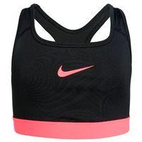 Nike Performance CLASSIC Biustonosz sportowy black/racer pink/racer pink