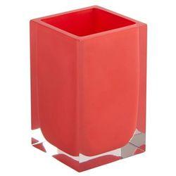 Kubek łazienkowy Cooke&Lewis Capraia czerwony (3663602964865)