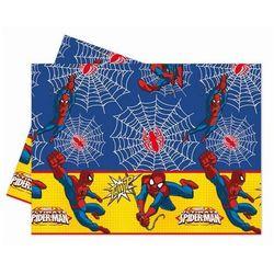 Obrus urodzinowy Ultimate Spiderman Power - 120 x 180 cm - 1 szt.