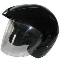 Kask motocyklowy MOTORQ Torq-o1 otwarty czarny połysk (rozmiar XS), kup u jednego z partnerów