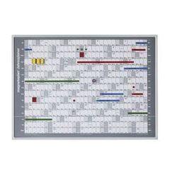 Tablica pod planer roczny 865 x 620 mm a1 marki Magnetoplan