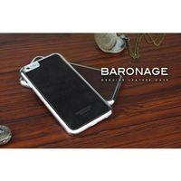 BUSHBUCK BARONAGE Classical Edition - Etui skórzane do iPhone 6s Plus / iPhone 6 Plus (czarny), kolor czarny