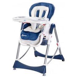 Caretero Bistro rozkładane krzesełko do karmienian navy, kup u jednego z partnerów
