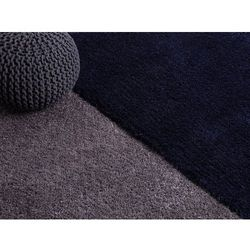 Dywan szary - 160x230 cm - shaggy - poliester - EDIRNE (7081451285867)