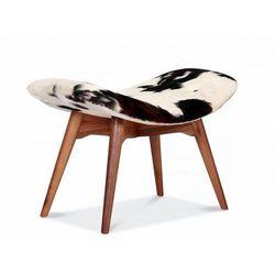 Podnóżek inspirowany proj. grant featherston - skóra pony marki Design town