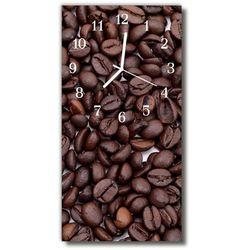 Zegar Szklany Pionowy Kuchnia Ziarna kawy brązowy