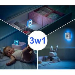 Lampka nocna LED na baterie czujnikiem ruchu REER (4013283520208)