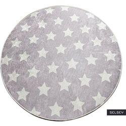 Selsey dywan do pokoju dziecięcego dinkley yildiz szary średnica 200 cm