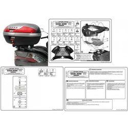 GIVI E531 STELAŻ KUFRA CENTRALNEGO SUZUKI BURGMAN 400 K7-K8-K9-L0-L1-L2-L3 (06-13), marki Givi do zakupu w StrefaMotocykli.com
