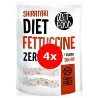 Makaron shirataki fettuccine 4x370g zestaw -  (5,97zł. za 1 szt.) marki Diet-food
