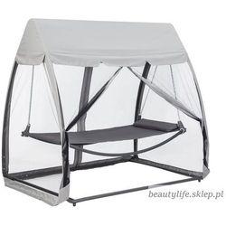 Hamak leżanka huśtawka leżak ogrodowy z moskitierą Goodhoome (5903089061182)
