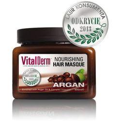 Maska do włosów vitalderm - - 500 ml (słoik) marki Peerpharm