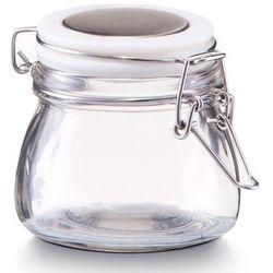 Zeller Pojemnik na przyprawy, słoik z pokrywką, 125 ml - kolor biały,