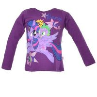 Bluzka z długim rękawem z postaciami z bajki My Little Pony - Fioletowy ||Kolorowy