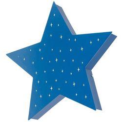 Plafon lampa oprawa sufitowa Aldex Montu gwiazda w gwiazdy 2x25W E14 niebieski 835PL/H11