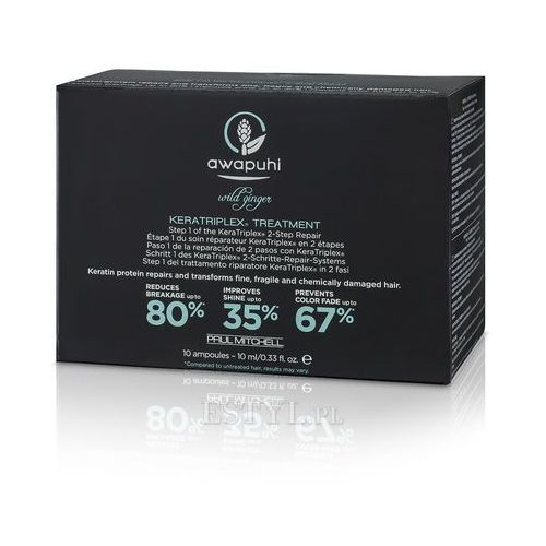 Keratriplex Treatment - intensywna kuracja keratynowa 10x10 ml, marki Paul Mitchell do zakupu w Estyl.pl