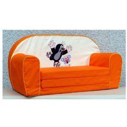 Bino  sofa krecik kolor pomarańczowy