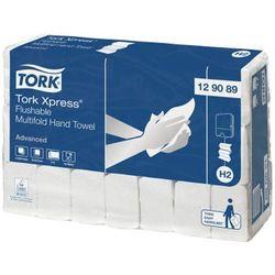 Tork Ręcznik papierowy łatwo rozpuszczalny xpress® multifold 2 warstwy 4200 szt. biały celuloza
