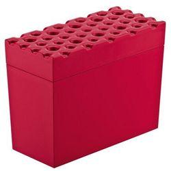 Koziol - Pojemnik na pieczywo chrupkie Brod - czerwony - czerwony