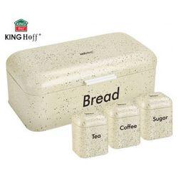 Chlebak w zestawie z 3 pojemnikami  [kh-1073] marki Kinghoff