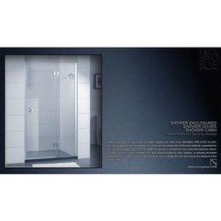 DRZWI PRYSZNICOWE AXISS GLASS AN6221H 900mm, towar z kategorii: Drzwi prysznicowe