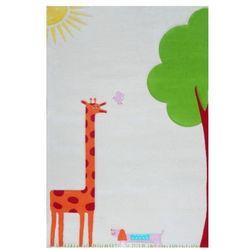 Dywan żyrafa soft play 134 x 180 cm kremowy marki Ivi