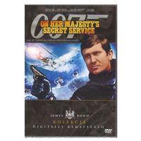 James Bond: 007 W tajnej służbie jej królewskiej mości (DVD) - Peter R. Hunt (5903570132445)
