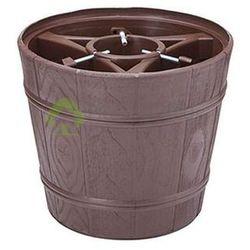 Stojak choinkowy-donica PLANETA2 brązowy