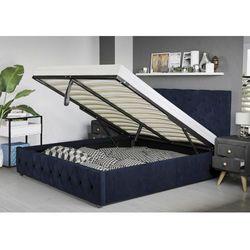 Łóżko z materacem tapicerowane 160x200 sfg007a welur #82 marki Meblemwm