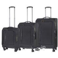 Zestaw walizek Travelite Crosslite - czarny - sprawdź w wybranym sklepie