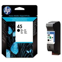 Hp  tusz black nr 45, 45g, 51645g