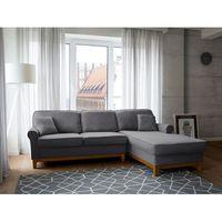 Narożnik ciemnoszary - kanapa - sofa - narożna - wypoczynek - NEXO - produkt z kategorii- Narożniki
