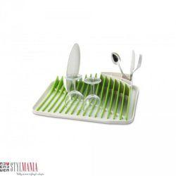 Ociekacz do naczyń Vialli Design Piano biało-zielony (suszarka do naczyń)