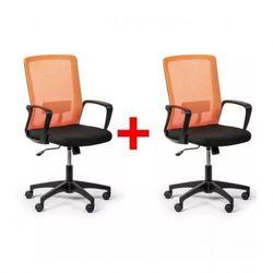 Krzesło biurowe base 1 + 1 gratis, pomarańczowy marki B2b partner