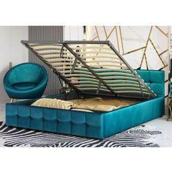 Łóżko tapicerowane 140x200 sfg004 welur #77 marki Meblemwm