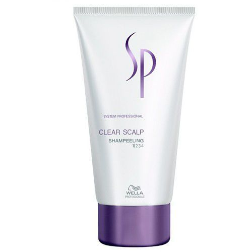 SP Clear Scalp Shampeeling - kuracja przeciwłupieżowa 150ml, produkt marki Wella