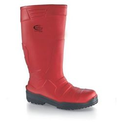 Buty unisex | wellington boots - sentinel s4 | czerwone | rozmiary 37-46, marki Shoes for crews